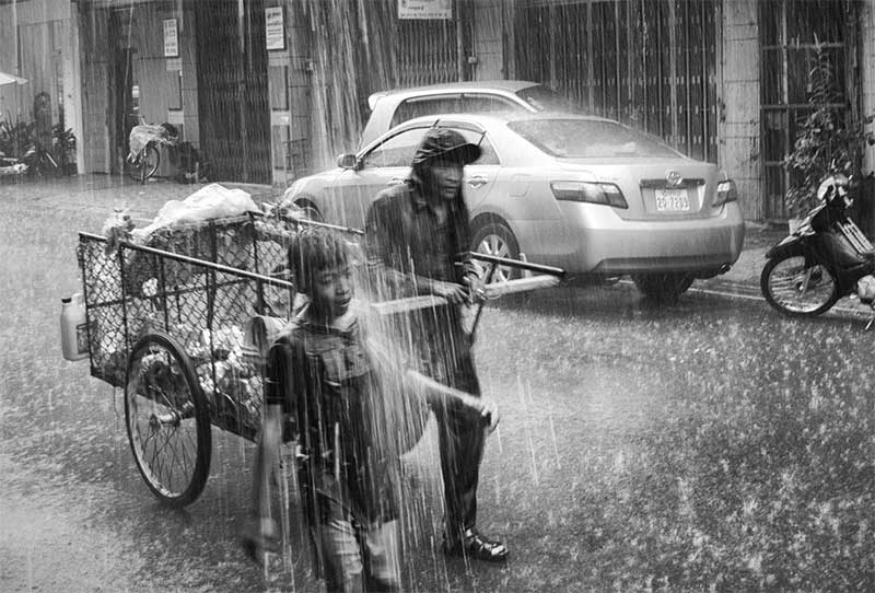 Phnom Penh during rainy season. Pic: Jamie Wilson