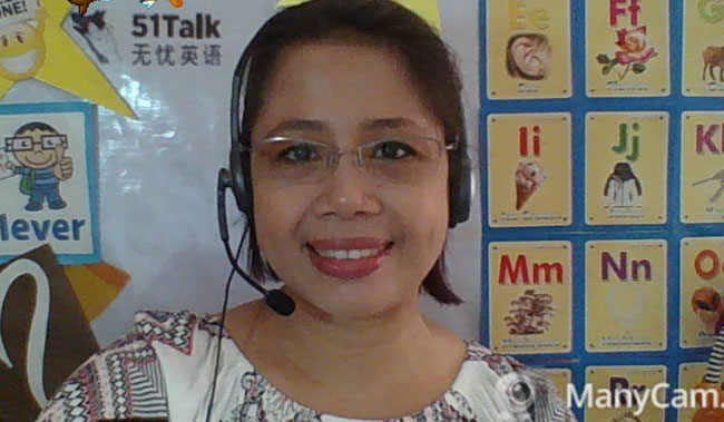 Online Filipino teacher