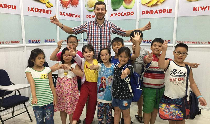 Teaching in Vietnam school