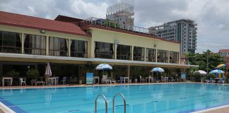 Phnom Penh Sports Club swimming pool