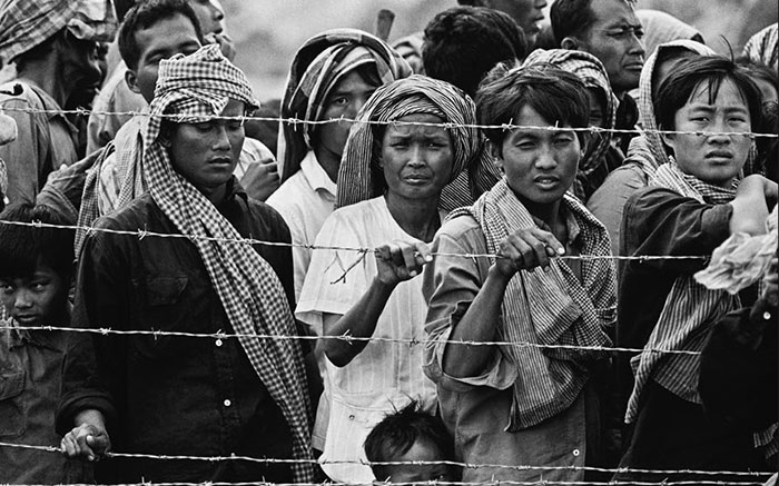 Cambodian refugees