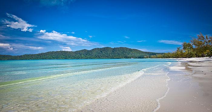 Ko Rong Samloem beach