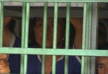Inmate inside Prey Sar Prison, Cambodia