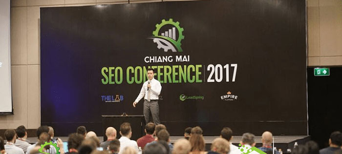 Matt Diggity at the Chiang Mai SEO Conference 2017