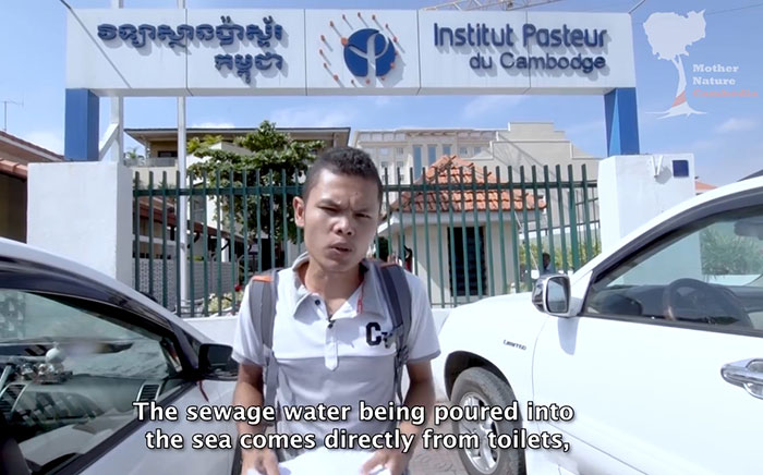 Sihanoukville water is contaminated