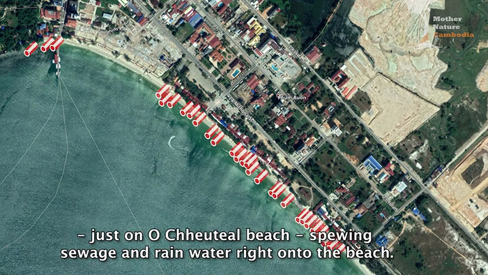Sihanoukville sewage overview